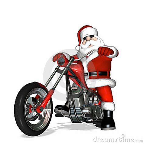 santa on a motorcycle december 2014 national chopper club northants