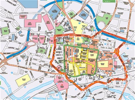 printable map leeds city centre related keywords suggestions for leeds map