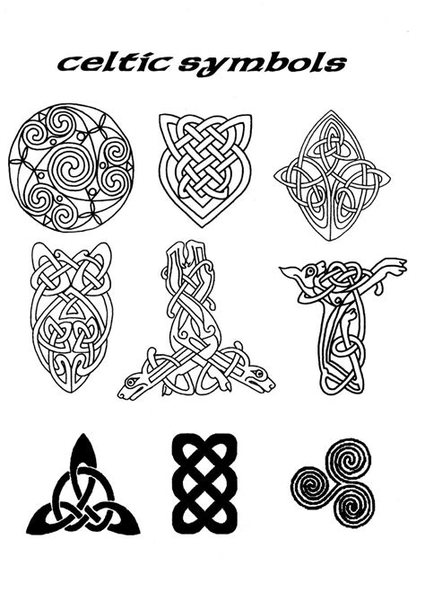 celtic symbols tattoo designs celtic symbols of celtic symbol image naming