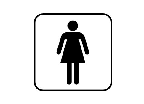 women s bathroom logo womens restroom symbol clipart best