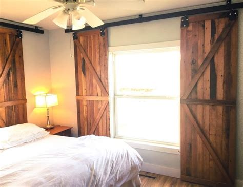 Barn Doors With Windows Ideas 1000 Ideas About Closet Door Curtains On Pinterest Curtain Closet Door Curtains And Closet Doors