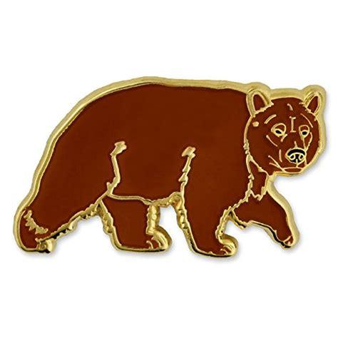 Lapel Pin Brown brown bears lapel pin brown lapel pin