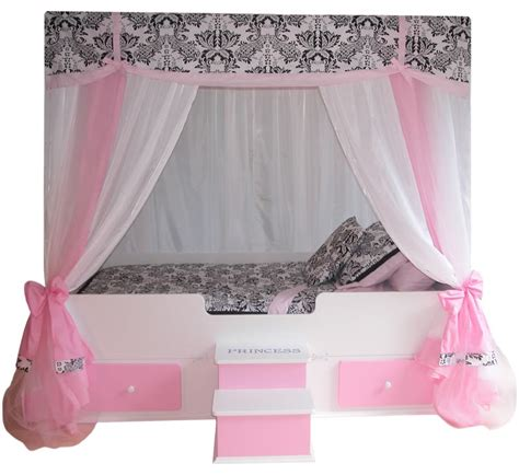 princess bed canopy for girls sophia canopy bed with bedding pink princess canopy bed