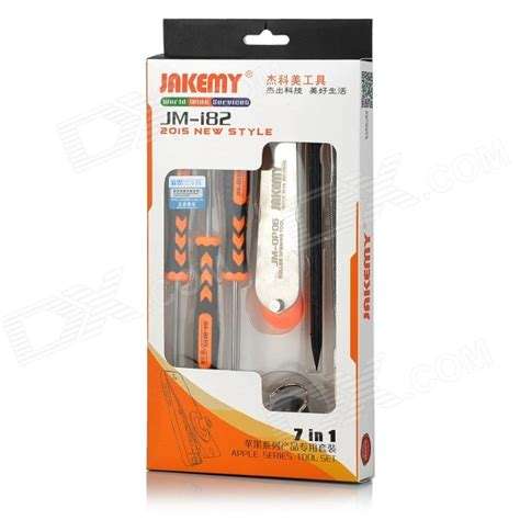 Jakemy Jm I82 7 In 1 Toolset For Apple Series jakemy jm i82 7 in 1 disassembly tool for iphone black