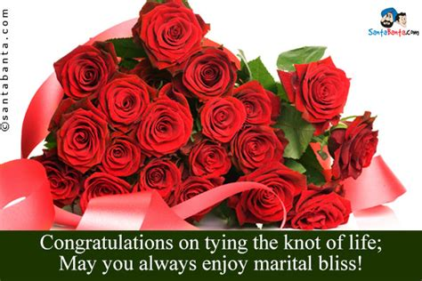 Wedding Wishes Tying The Knot by Wedding Wishes Sms