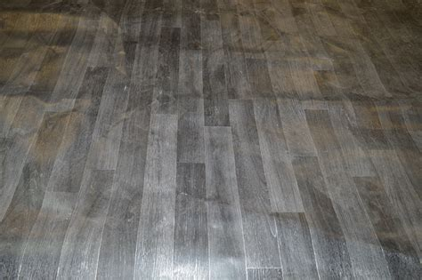 full roll of 4m x 30m grey laminate effect vinyl flooring
