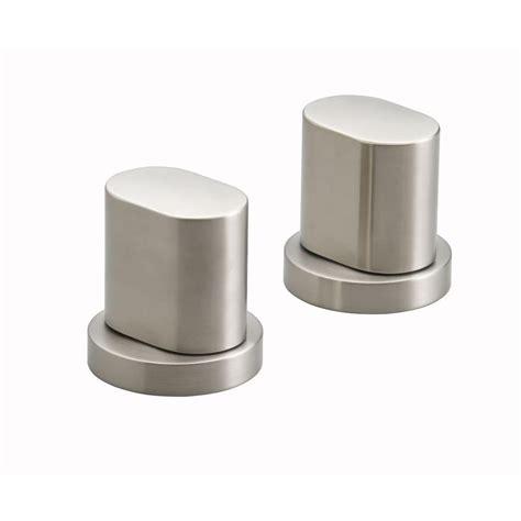 Kohler Oblo Faucet by Kohler Oblo Bathroom Faucet Handles In Vibrant Brushed
