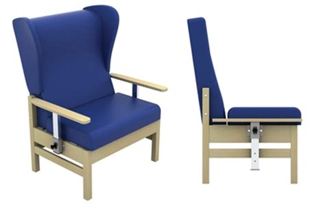 bariatric armchair atlas bariatric armchair with drop arms and wings in anti