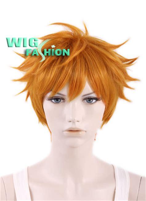 haikyu hinata syouyou wig anime haikyu shoyo hinata orange hair wig