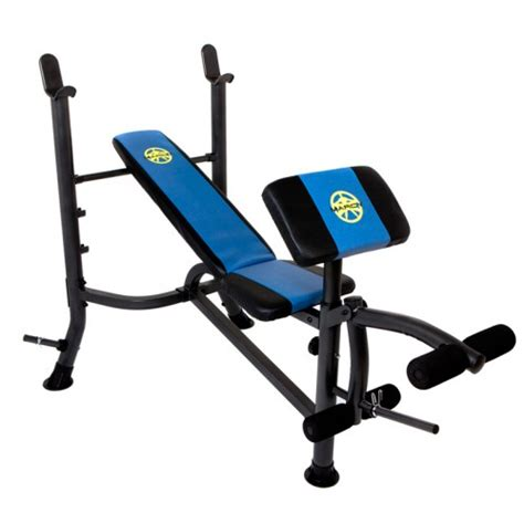 marcy wm367 weight lifting barbell bench with preacher