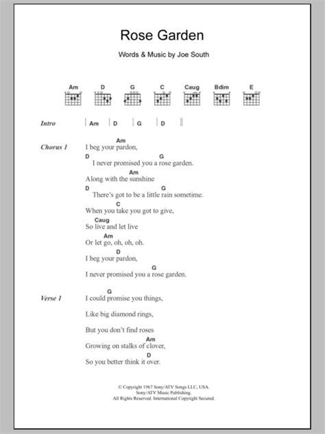 In The Garden Chords by Garden By Guitar Chords Lyrics