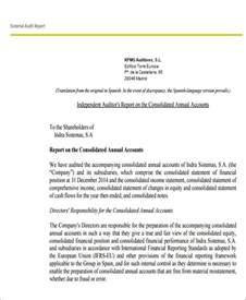 Sample Financial Audit Report Sample External Audit Report 8 Examples In Pdf Word