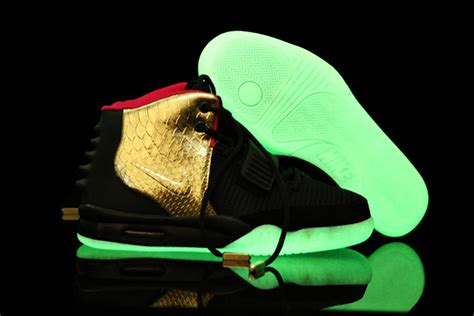 glow in the shoes glow in the nike air yeezy 2 shoes newoneliu