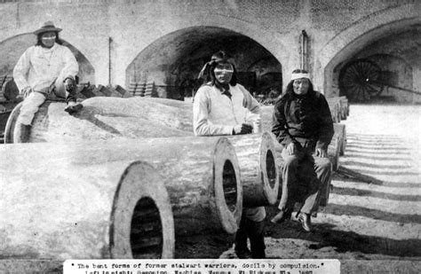 Geronimo In the real story geronimo s captivity in pensacola the pulse