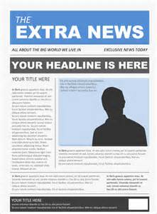 Free Newspaper Ad Template by Image Gallery Sle Newspaper