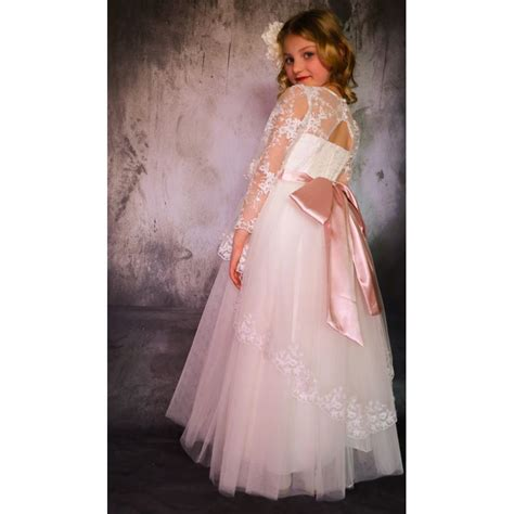Robe Dentelle Fille 2 Ans - robe mariage en dentelle pour enfant fille