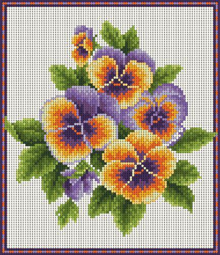imagenes flores en punto de cruz ideas de flores en punto de cruz