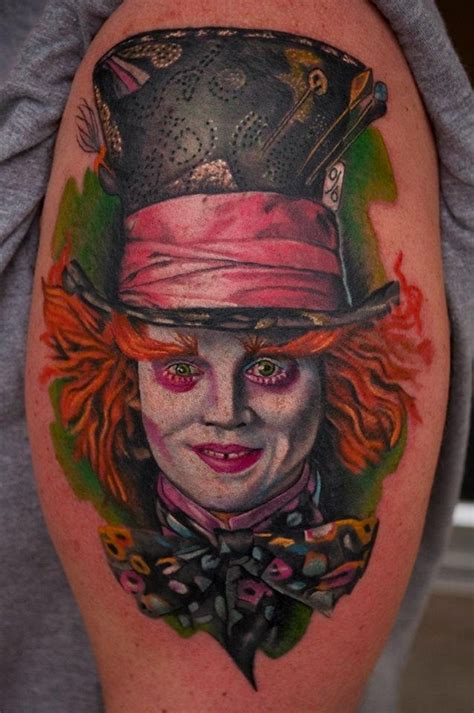 mad hatter tattoo by matty mctatty tattoos i love