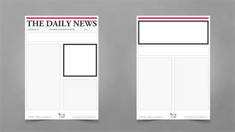 newspaper templates for pages newspaper template for kids mobawallpaper