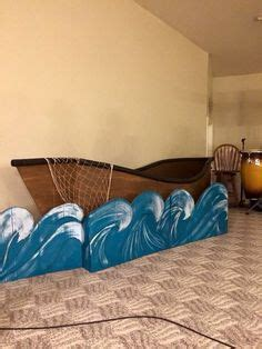 what are boat props made of boat from recycled cardboard and fabric how perfect for