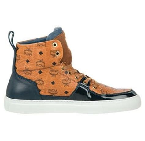 mcm kid shoes mcm high top sneaker michalsky x mcm 2014 collaboration