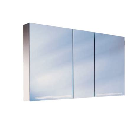 schneider graceline 3 door mirror cabinet uk bathrooms schneider graceline 3 door illuminated mirror cabinet 1300mm