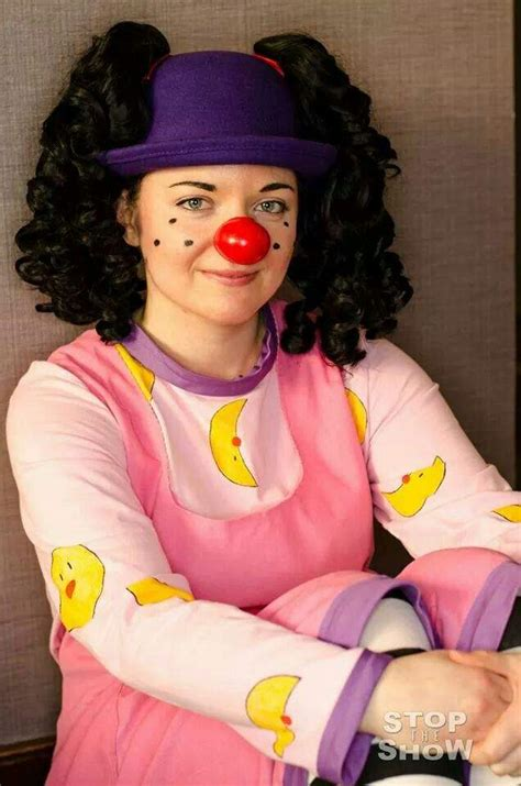 girl from the big comfy couch loonette the clown cosplay amino