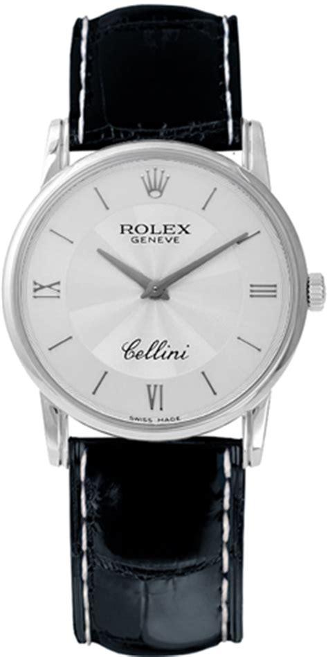 6111 9 rolex cellini womens 26mm quartz white gold silver