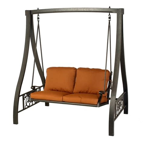 Patio Furniture Swing by Grand Tuscany A Frame Swing By Hanamint Patio Furniture