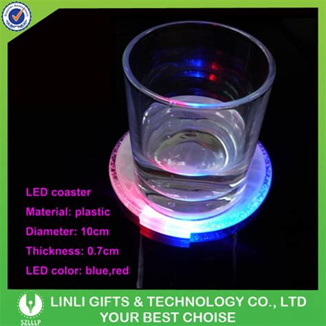 wholesale fashion light up coasters light bar supplies