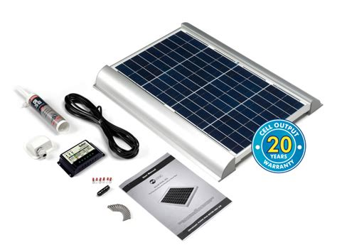 30 watt solar rooftop kit