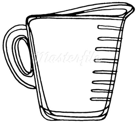 measuring cup clipart measuring cup clipart black and white clipart panda
