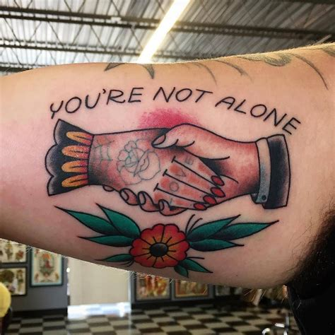 tattoo paradise washington dc you re not alone by rclarketattoos at paradise in