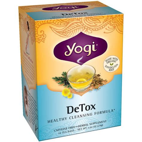 Fit Tea Detox Walmart by Yogi Detox Tea Bags 16 Count Walmart