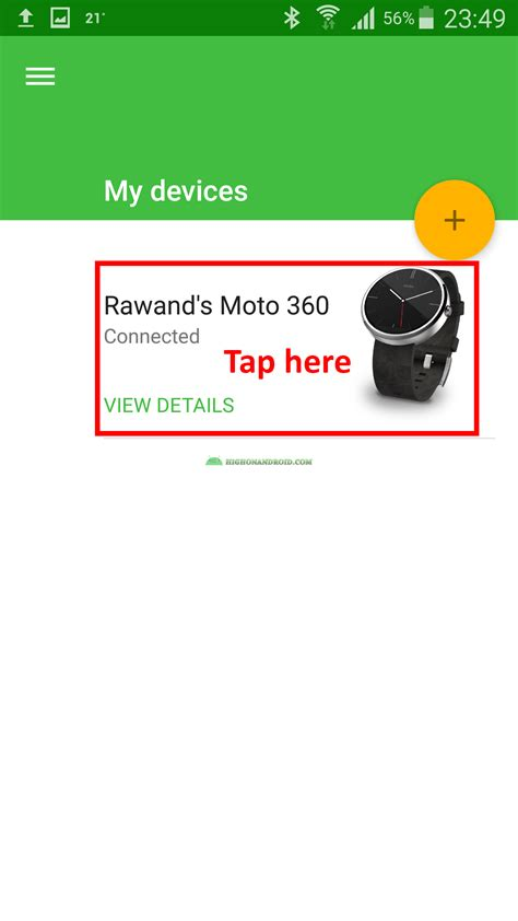 tutorial android wear app how to customize android wear watch faces howto