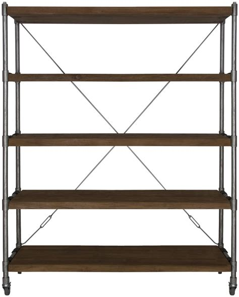 wood and iron pipe shelf furniture