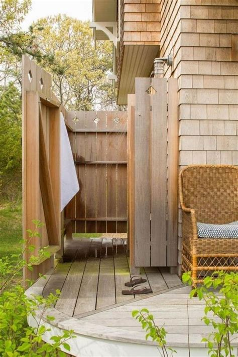 best outdoor shower best 25 outdoor shower enclosure ideas on pinterest