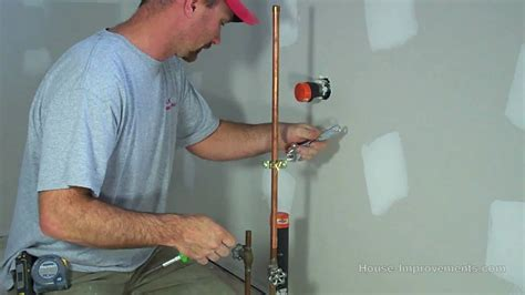 Plumbing A Fridge by How To Install A Water Line To Your Fridge