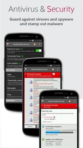 mcafee mobile security free free mcafee mobile security android mobile phone
