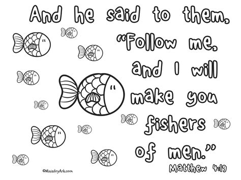 fishers of men coloring page fisherman coloring pages for