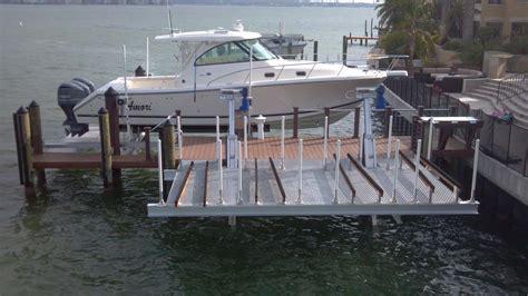 hi tide boat lift remote aluminum boat lifts hi tide