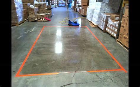 3M Trizact & Stone Floor Protector Demo   YouTube