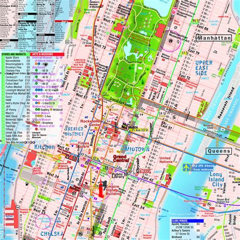 subway map of manhattan with streets manhattan subway map with streets 10 terramaps nyc