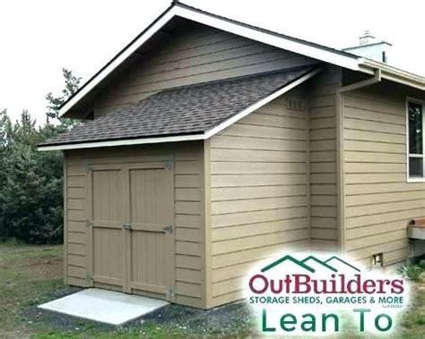 image result  lean  shed attached  house backyard