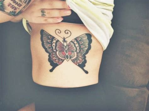 butterfly tattoo rib cage rib cage chest butterfly tattoo tattoos and piercings