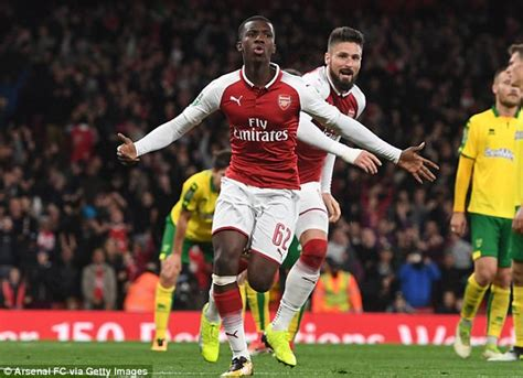 arsenal nketiah arsenal striker eddie nketiah says night was a dream