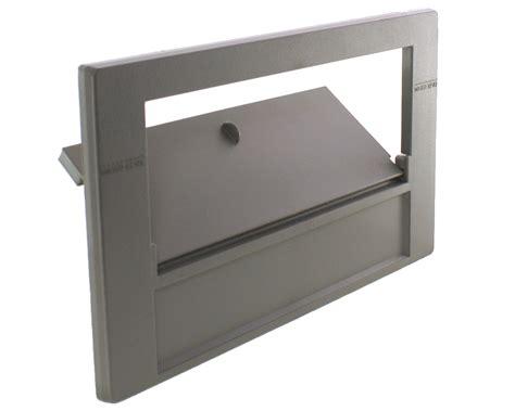 rectangular skimmer faceplate and weir door