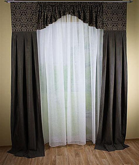 fenster schals gardinen hochwertige tapeten und stoffe fensterdeko mit 2 schals
