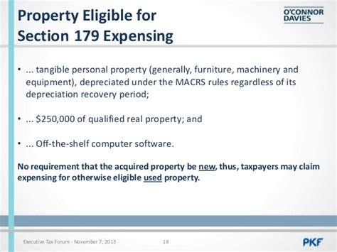 qualified real property section 179 corporate tax update