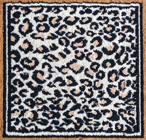 black and white leopard rug black and white leopard tiger rug stock image image 31301975